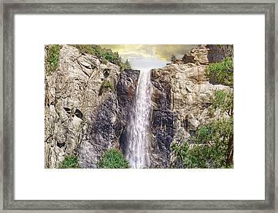 Yosemite Falls Framed Print by Michael Cleere