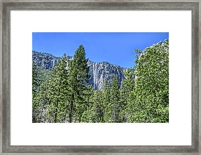 Yosemite Falls2 Framed Print by Michael Cleere
