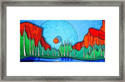 Yosemite Framed Print by Jason Charles Allen