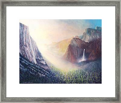 Yosemite Morning Framed Print