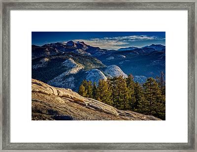Yosemite Morning Framed Print by Rick Berk
