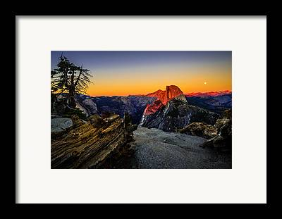 Yosemite California Framed Prints
