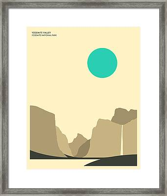 Yosemite National Park Framed Print by Jazzberry Blue