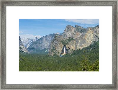 Yosemite National Park Framed Print by Kobby Dagan
