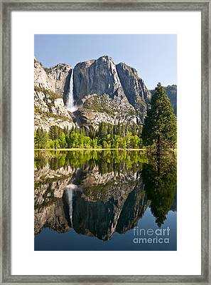 Yosemite National Park, Springtime Framed Print by Inga Spence