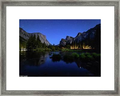 Yosemite Nights Framed Print