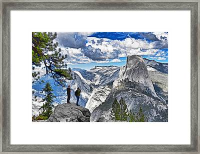 Yosemite Overlook Framed Print by Dennis Cox WorldViews