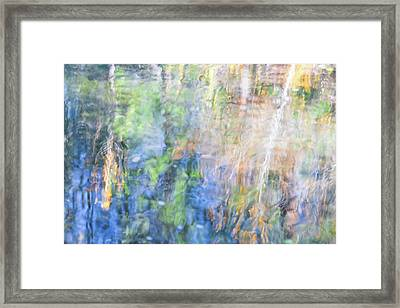 Yosemite Reflections 4 Framed Print by Larry Marshall
