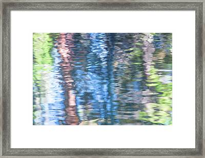 Yosemite Reflections Framed Print by Larry Marshall
