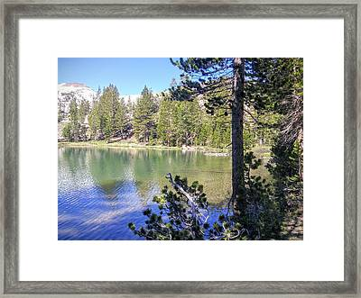 Yosemite Lake Framed Print