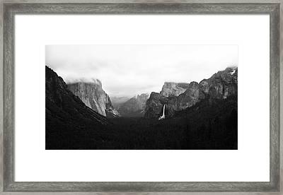 Yosemite Framed Print by Ricky Sandoval