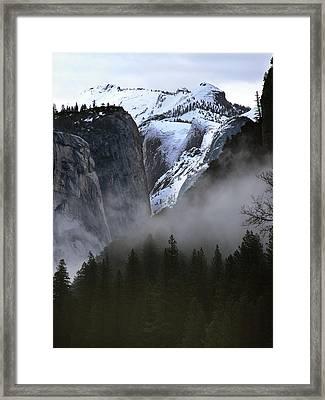 Yosemite Storm Framed Print