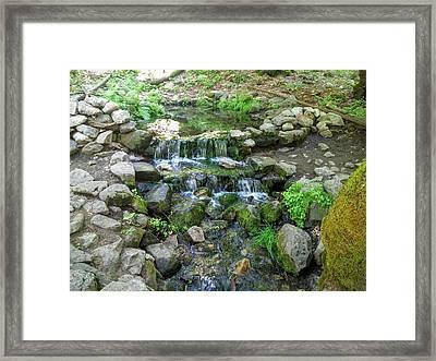 Yosemite Stream Framed Print