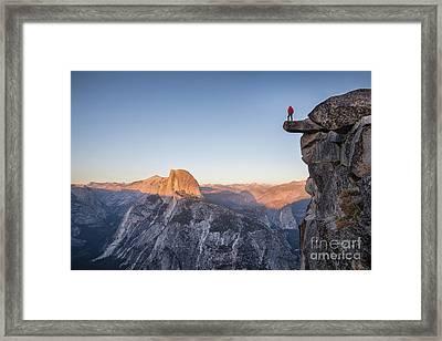 Yosemite Sunset Framed Print