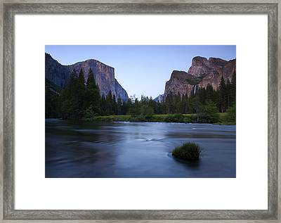 Yosemite Twilight Framed Print