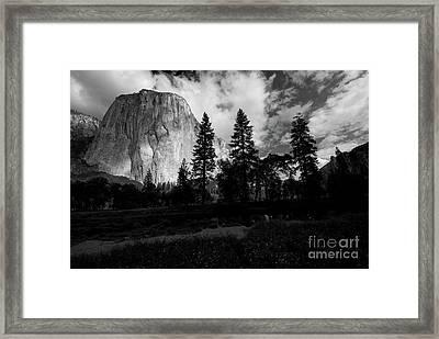 Yosemite Valley And El Capitan Framed Print by Chris Brewington Photography LLC