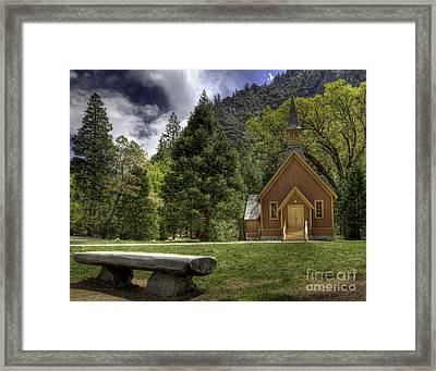 Yosemite Valley Chapel Framed Print