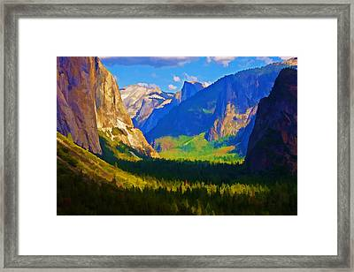 Yosemite Valley Framed Print by Dennis Cox WorldViews