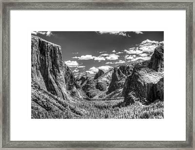 Yosemite Valley Framed Print by G Wigler
