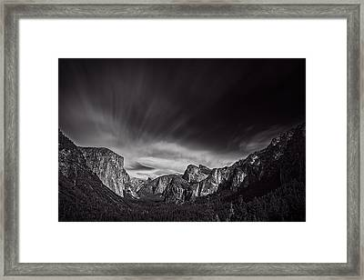 Yosemite Valley Framed Print by Ian Good