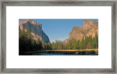 Yosemite Valley Framed Print by Juergen Roth