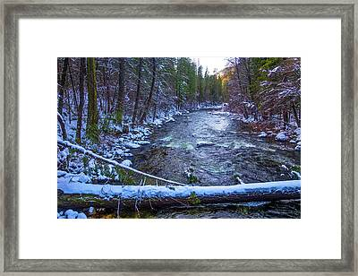 Yosemite Valley Merced River Framed Print by Garry Gay