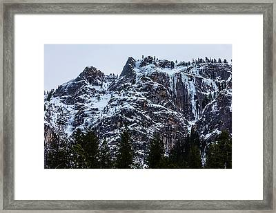 Yosemite Valley Mountains Framed Print by Garry Gay