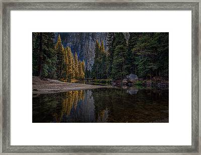 Yosemite Valley Reflections 1 Framed Print