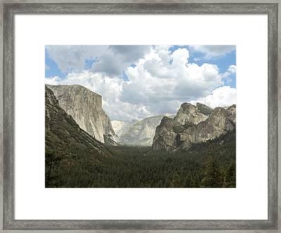 Yosemite Valley Yosemite National Park Framed Print