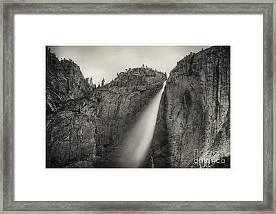 Yosemite Waterfall #2  Framed Print