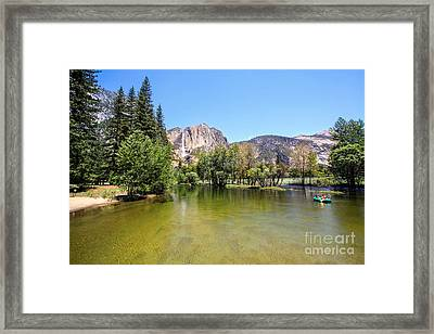 Yosemite Wide View Framed Print by Ava Peterson