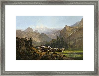 Yosemite Zaku Framed Print