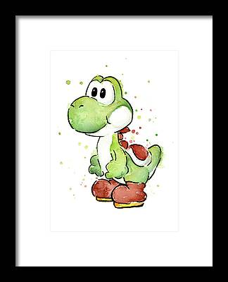 Dinosaur Framed Prints