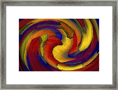 You Ain't Seen Nothin Yet Framed Print by Terry Mulligan