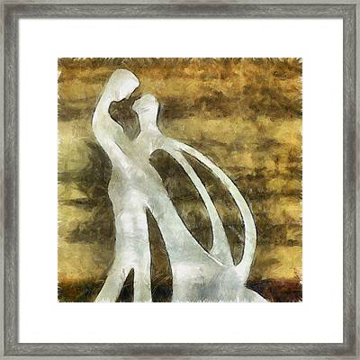 You And I 1 Framed Print by Angelina Vick