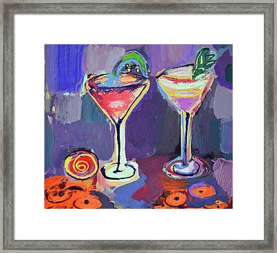You And I, Let's Go Out Framed Print by Amara Dacer