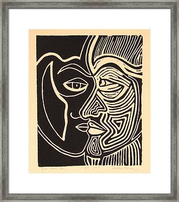 You And Me Framed Print by Rollin Kocsis