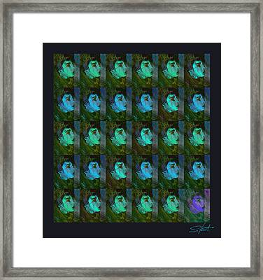 You And Your Strange Colour Ways Framed Print by Charles Stuart