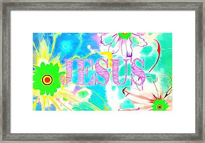 You Are A Child Of God Framed Print