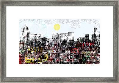 You Are Here  Framed Print by Andy  Mercer