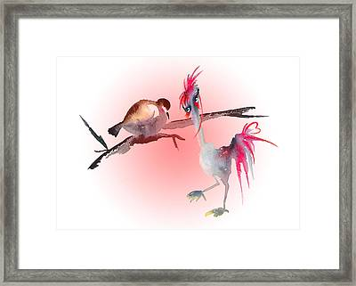 You Are Just My Type Framed Print by Miki De Goodaboom