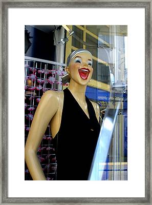 You Are Just So Stupid Framed Print by Jez C Self