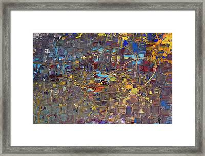 You Are My Fire Framed Print by Maria Isabel Storniolo