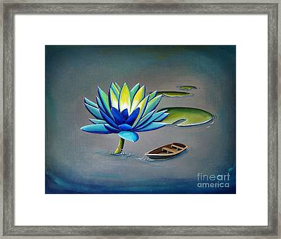 You Are My Hiding Place Framed Print by Cindy Thornton