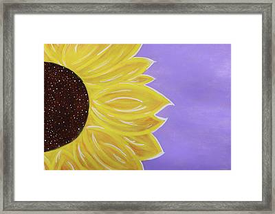 You Are My Sunshine Framed Print by Cyrionna The Cyerial Artist