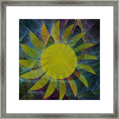 You Are My Sunshine Framed Print by Kathleen Sartoris