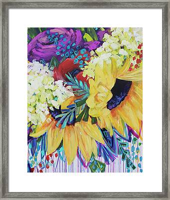 You Are My Sunshine Framed Print by Kristin Whitney