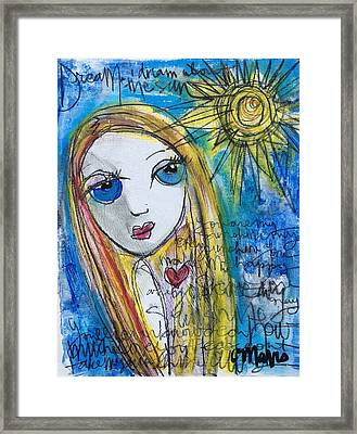 You Are My Sunshine  Framed Print by Laurie Maves ART