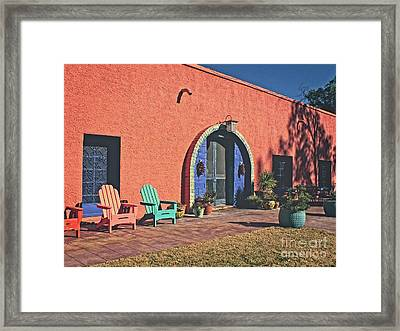 Radiance From The Sun Framed Print by Lucinda Walter