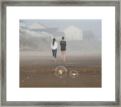 You Are Not Fat Framed Print